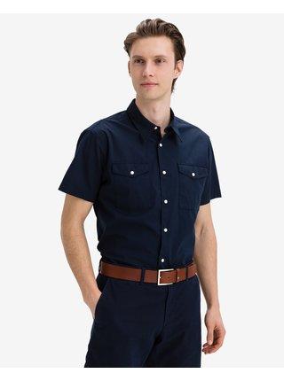 Košele s krátkym rukávom pre mužov Jack & Jones - modrá