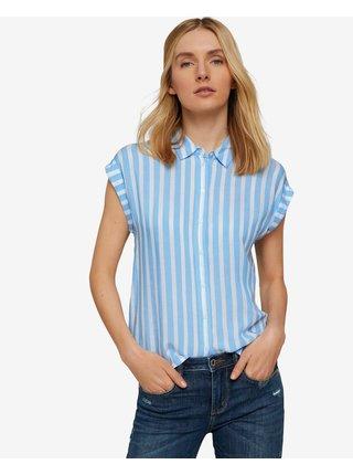 Košele pre ženy Tom Tailor - modrá