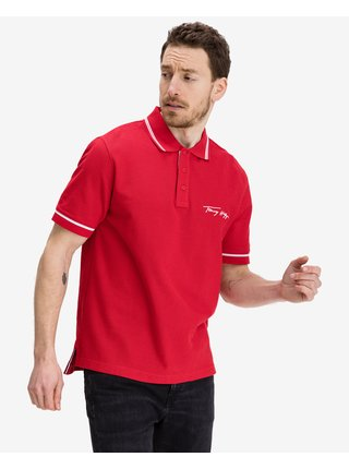 Tipped Signature Polo triko Tommy Hilfiger
