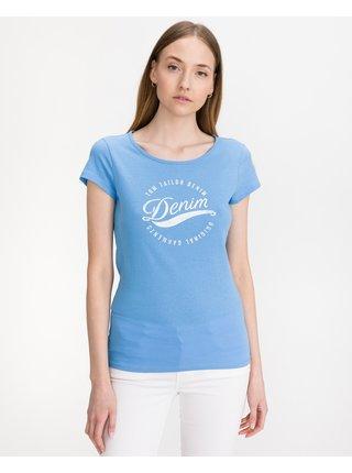 Tričká s krátkym rukávom pre ženy Tom Tailor Denim - modrá