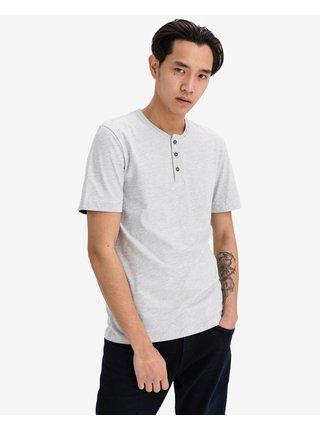 Tričká s krátkym rukávom pre mužov Tom Tailor - sivá
