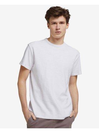 Tričká s krátkym rukávom pre mužov Tom Tailor - biela