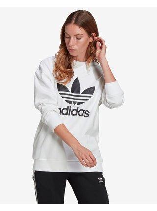 Mikiny pre ženy adidas Originals - biela
