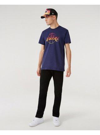Tričká s krátkym rukávom pre mužov New Era - modrá