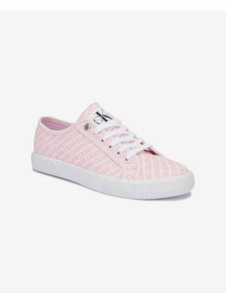 Tenisky pre ženy Calvin Klein - ružová