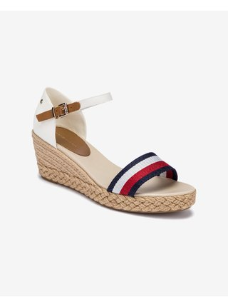 Sandále pre ženy Tommy Hilfiger - biela