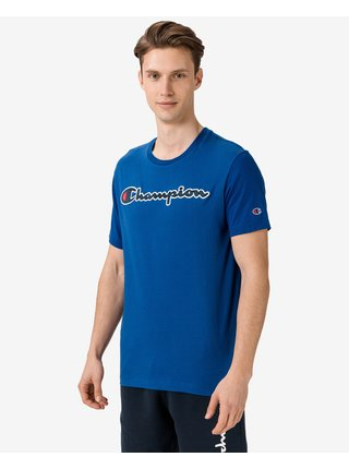 Tričká s krátkym rukávom pre mužov Champion - modrá