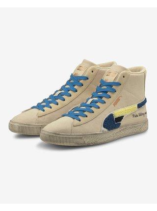 Tenisky, espadrilky pre mužov Puma - modrá, béžová
