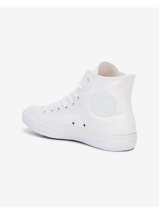 Bílé unisex kotníkové tenisky Converse Chuck Taylor All Star Canvas