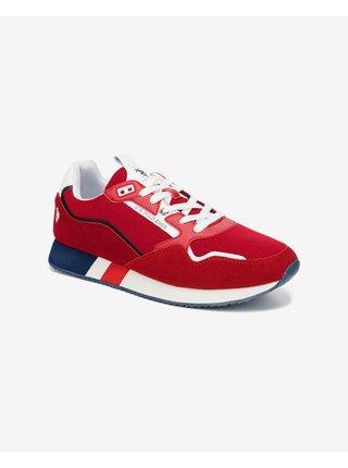 Tenisky, espadrilky pre mužov U.S. Polo Assn. - červená