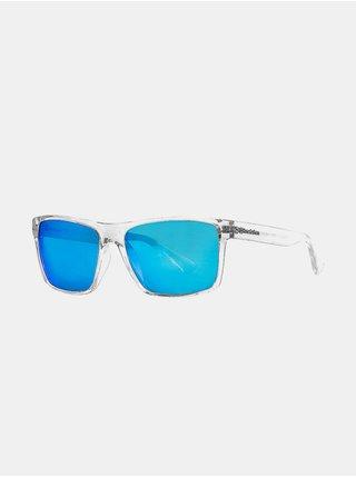 Horsefeathers MERLIN crystal/mirror blue sluneční brýle pilotky