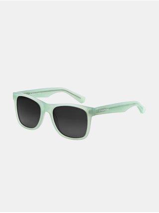 Horsefeathers FOSTER matt mint/gray fade out sluneční brýle pilotky