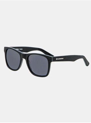 Horsefeathers FOSTER brushed black/gray sluneční brýle pilotky - černá