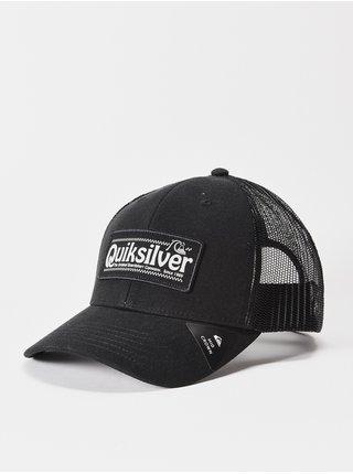 Quiksilver BIG RIGGER black baseballová kšiltovka - černá