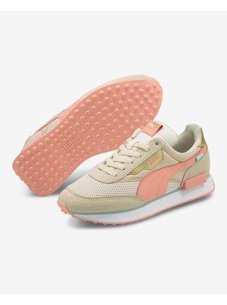 Tenisky pre ženy Puma - béžová, oranžová