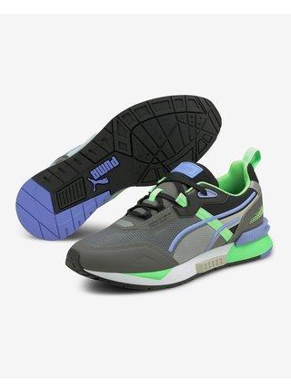 Tenisky, espadrilky pre mužov Puma - zelená, sivá, fialová