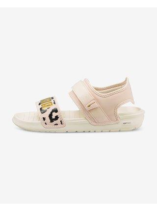 Sandále pre ženy Puma - béžová