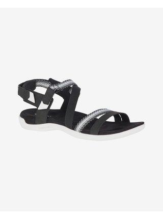 Sandále pre ženy Merrell - čierna, biela