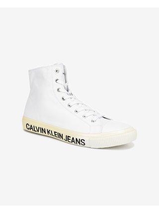 Tenisky, espadrilky pre mužov Calvin Klein - biela