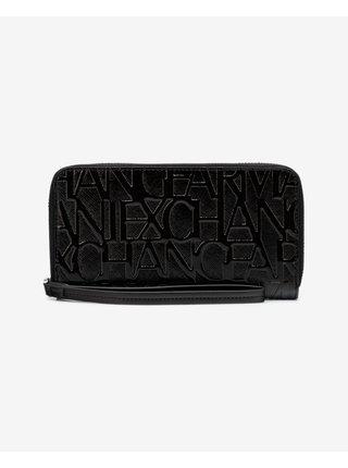 Peňaženky pre ženy Armani Exchange - čierna