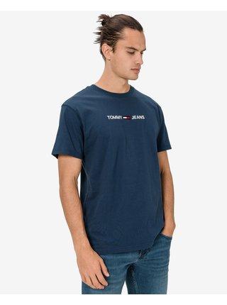 Tričká s krátkym rukávom pre mužov Tommy Jeans - modrá