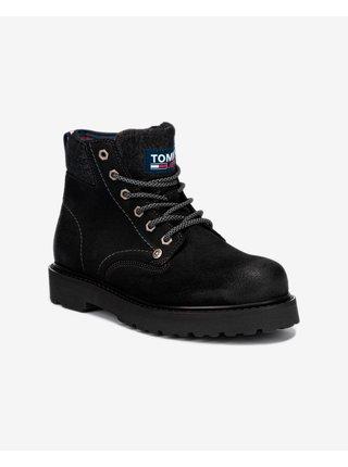 Lace Up Kotníková obuv Tommy Jeans