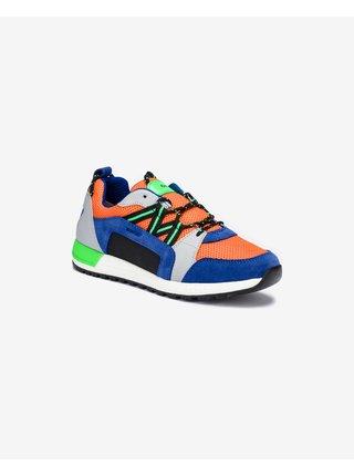 Geox - modrá, oranžová