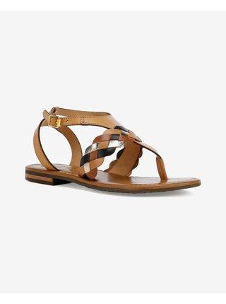 Sandále pre ženy Geox - hnedá