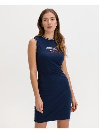 Šaty na denné nosenie pre ženy Tommy Jeans - modrá