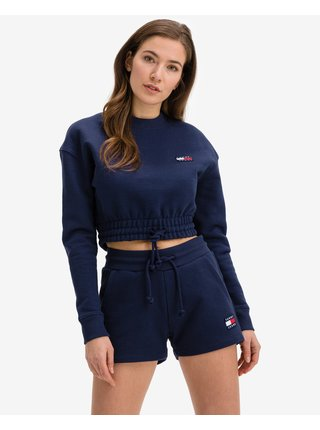 Super Cropped Badge Mikina Tommy Jeans