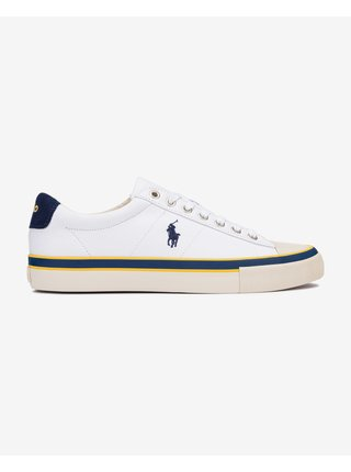 Tenisky, espadrilky pre mužov POLO Ralph Lauren - biela
