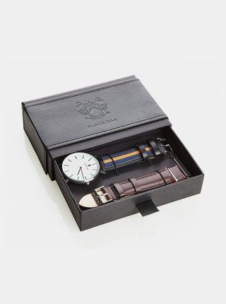 hodinky s vyměnitelnými pásky  Black Oak