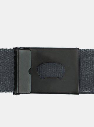 Horsefeathers IDOL GRAY pánský pásek - šedá