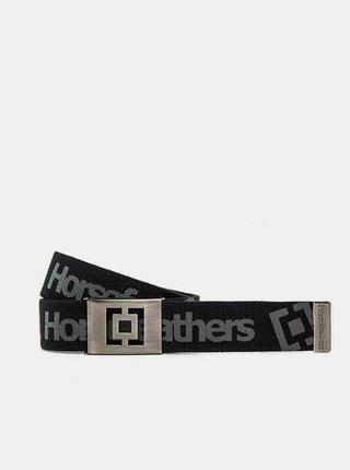 Horsefeathers IDOL black pánský pásek - černá
