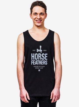 Horsefeathers SPIGOT black pánská tílko - černá