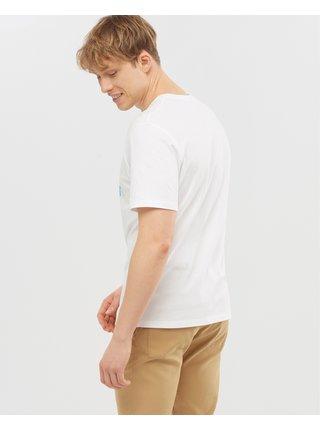 Tričká s krátkym rukávom pre mužov Salomon - biela