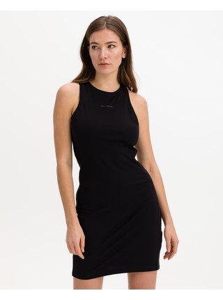 Šaty na denné nosenie pre ženy Calvin Klein - čierna