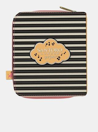 Růžová malá peněženka Santoro Gorjuss Little Dancer