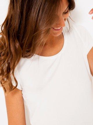Bílé basic tričko CAMAIEU