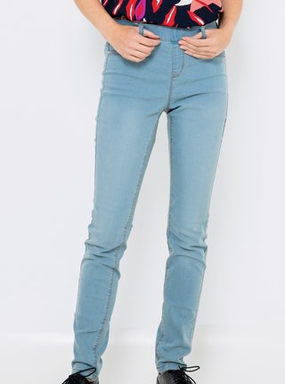 Modré slim fit džíny CAMAIEU