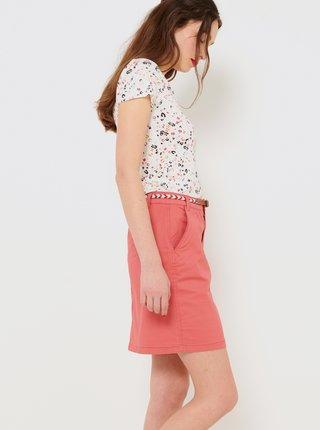 Ružová krátka sukňa CAMAIEU