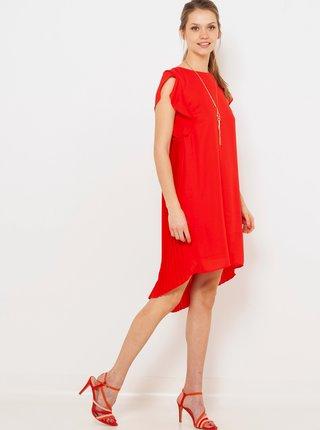 Červené šaty CAMAIEU