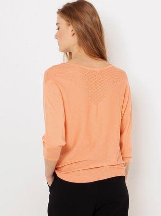 Marhuľový ľahký sveter CAMAIEU