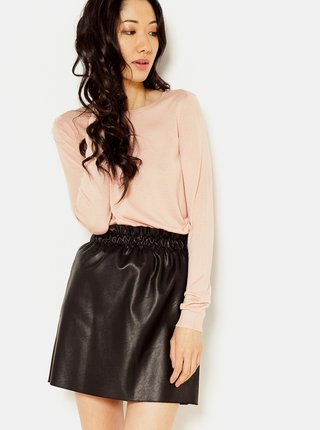Světle růžový lehký svetr CAMAIEU