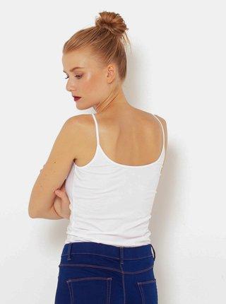 Basic tričká pre ženy CAMAIEU - biela