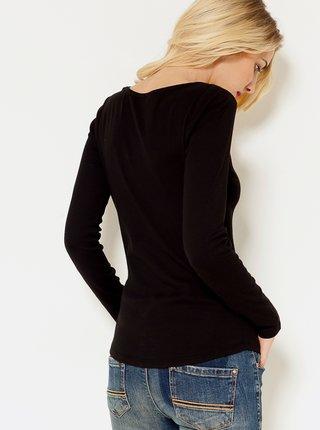 Čierne basic tričko CAMAIEU