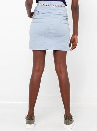 Svetlomodrá sukňa CAMAIEU