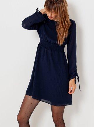 Tmavomodré šaty CAMAIEU
