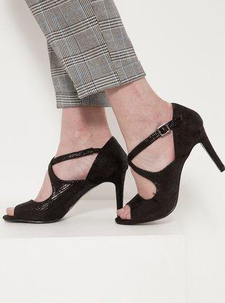 Černé sandále CAMAIEU