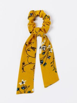Horčicová kvetovaná gumička CAMAIEU